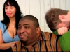 Patrice on set with Von Decarlo and Gino Tomac, The Patrice O'Neal Show - Coming Soon Web Series