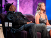 Patrice with Amy Schumer. Charlie Sheen Roast.
