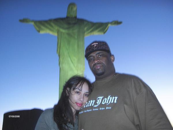 Patrice and Von Decarlo in Brazil