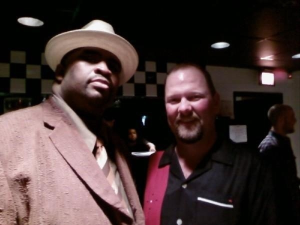 Mike with Patrice DC Improv.