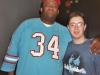 Patrice with Matthew Lee on August 2003 at Caroline's Comedy Club.