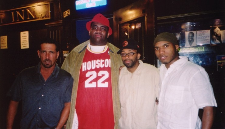Patrice with Spike Lee and Friends